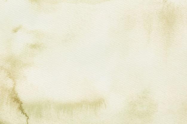 明るい茶色の水彩画の背景のキャンバス