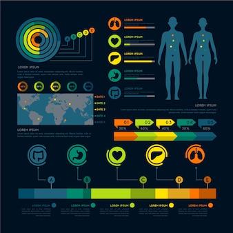 医療インフォグラフィック