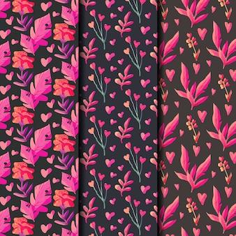 Коллекция шаблонов день святого валентина