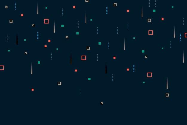 背景抽象ピクセル雨