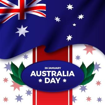 Реалистичная концепция дня австралии