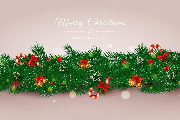 現実的なクリスマス見掛け倒しの背景