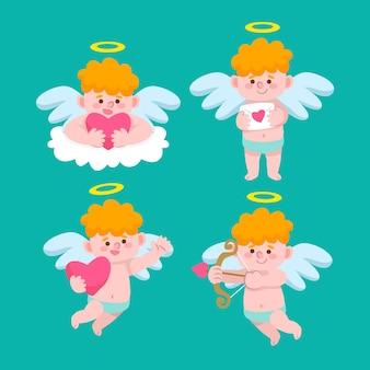 キューピッドキャラクターコレクション手描きスタイル