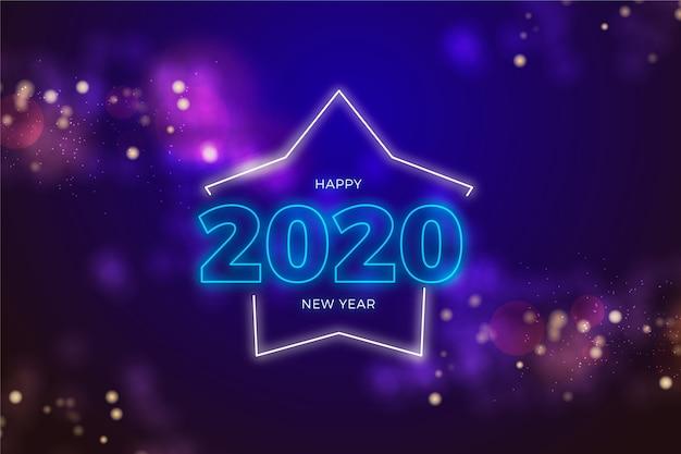 新年の夜のお祝いデコレーション