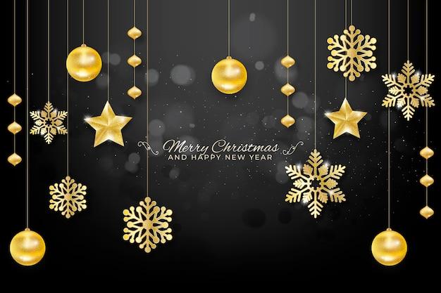 クリスマスをテーマにしたダールの背景