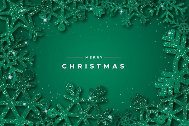 クリスマスをテーマにした背景