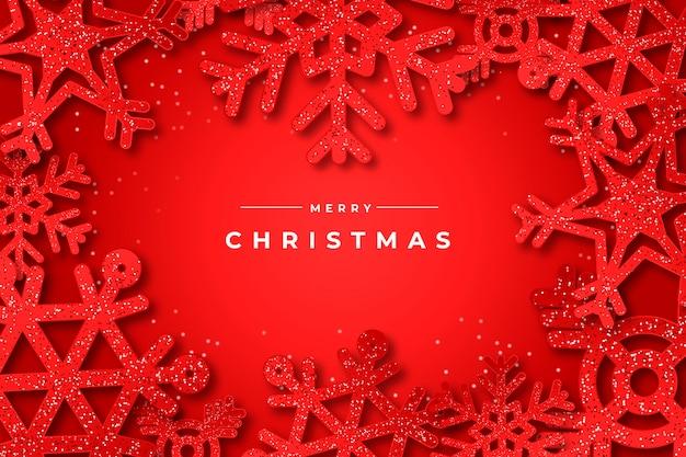 クリスマスの壁紙にキラキラ効果