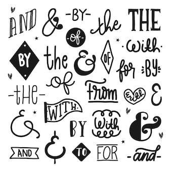 Лозунг и коллекция амперсандов