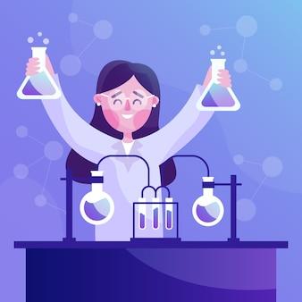 女性科学者