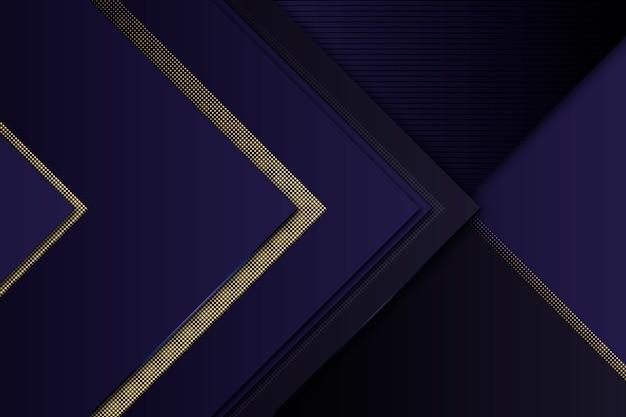 Золотые детали на темных бумажных слоях