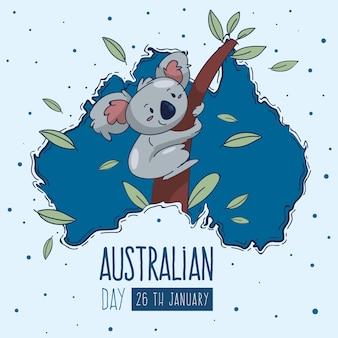 Ручной обращается день австралии