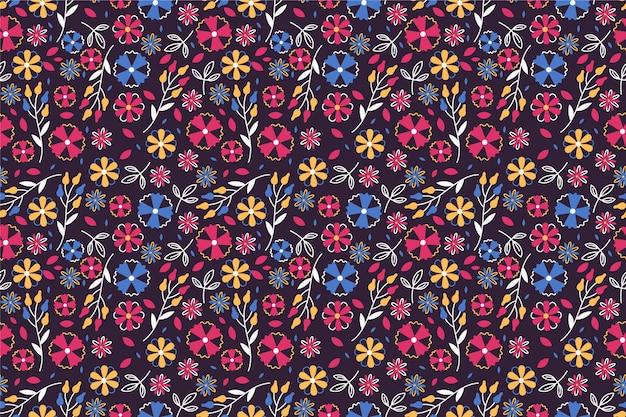 小さな花のきれいなパターン