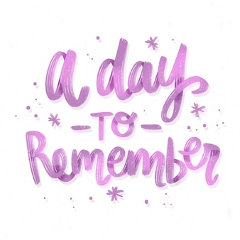 День, чтобы помнить свадебные надписи