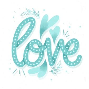 Любовные надписи в винтажном стиле
