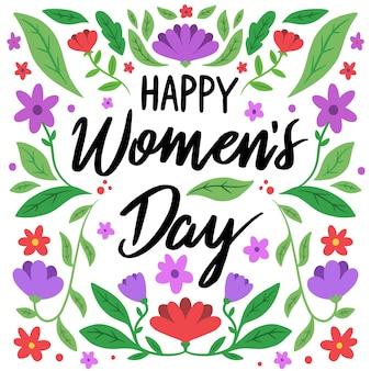 Международный женский день с приветствием