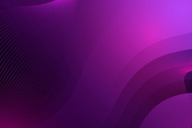 Темный волнистый фон с точками и копией пространства