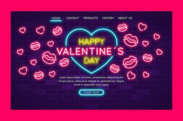 幸せなバレンタインデーの芸術的な概念