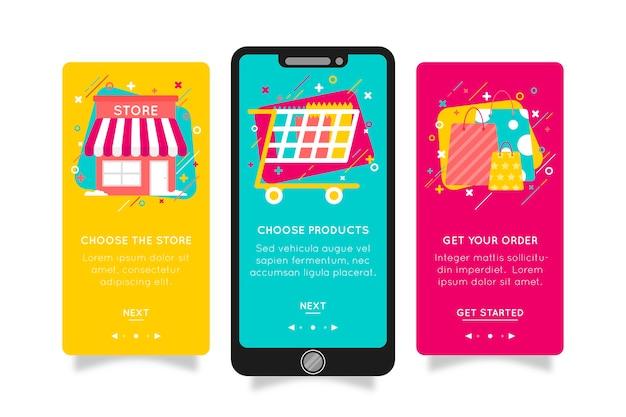 Купить онлайн концепт приложения