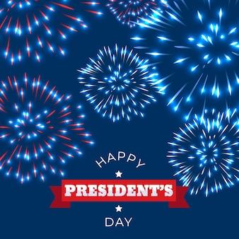 花火大統領の日の概念