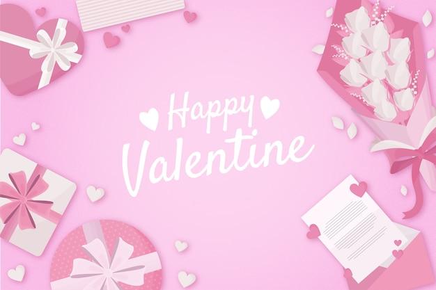 フラットバレンタインデーの背景