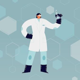 女性の科学者キャラクター