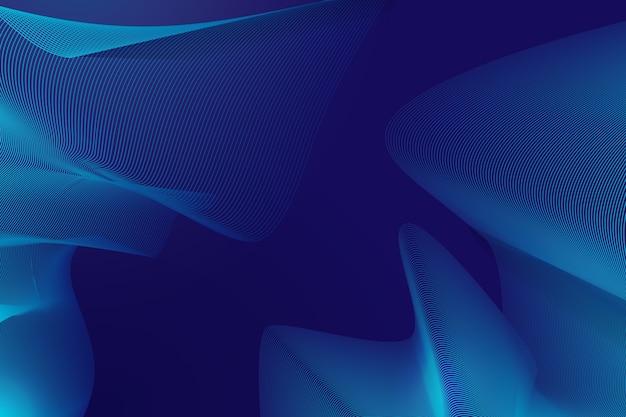 暗い波状の背景概念