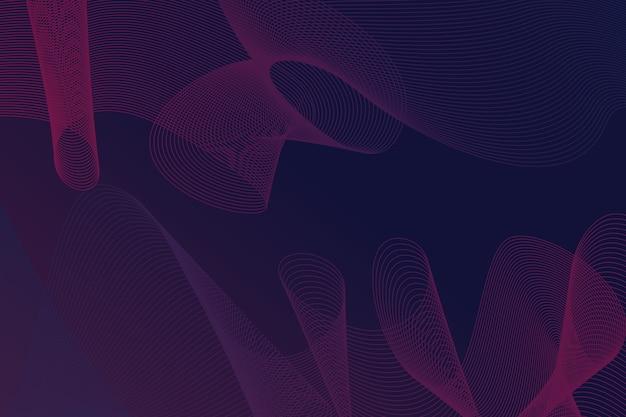Темно-волнистый фон
