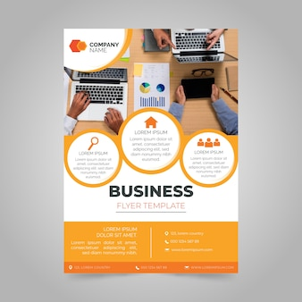 Годовой бизнес отчет с фото