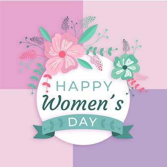 花の女性の日のイベントのテーマ