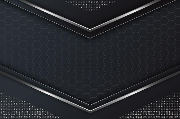 Реалистичные элегантные геометрические фигуры фон