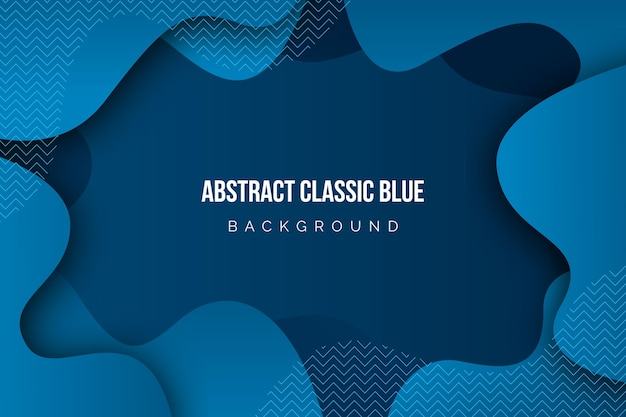 Абстрактный классический синий фон