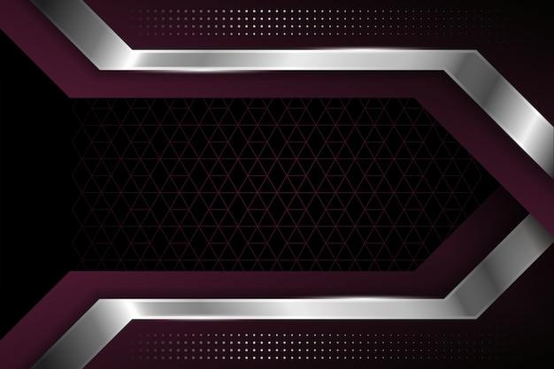 現実的なエレガントな幾何学的図形の背景