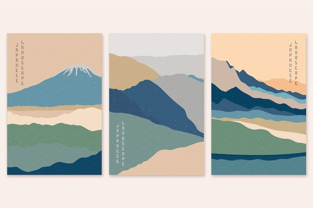 Минималистская коллекция японских обложек