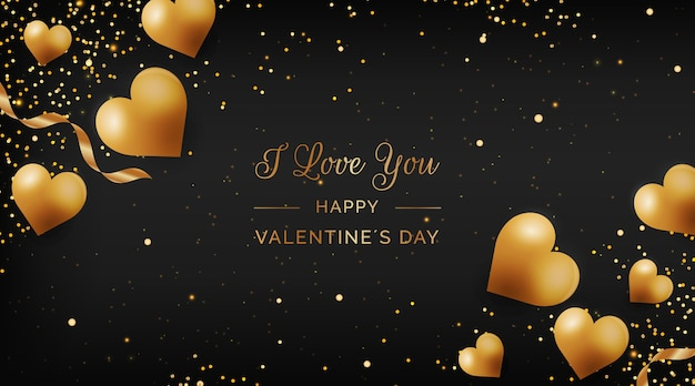 黄金のバレンタインデーの背景