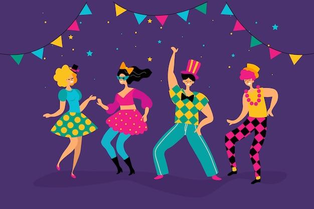 Коллекция карнавальных танцовщиц