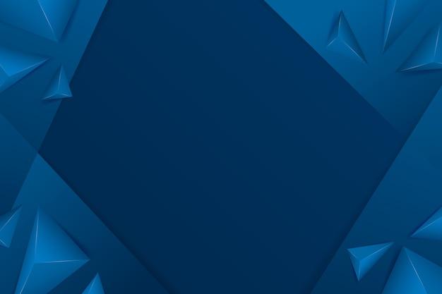 抽象的な古典的な青い背景のテーマ