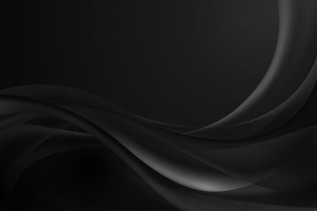 暗い波状の背景