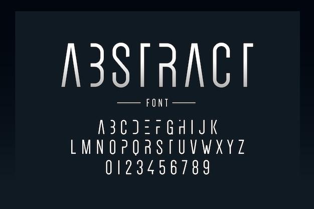 抽象的な最小限のアルファベット