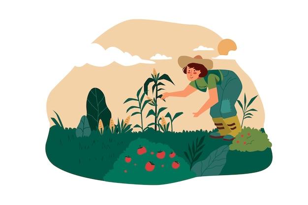 有機農業の概念図