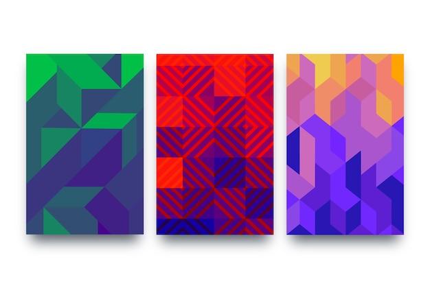 抽象的な形カバーコレクション