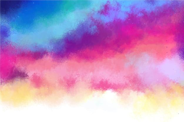 コピースペースとグラデーション色の背景