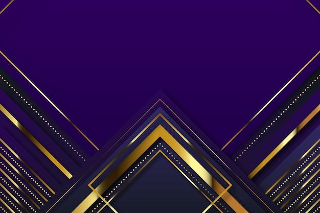 Реалистичный элегантный фон с золотыми стрелками