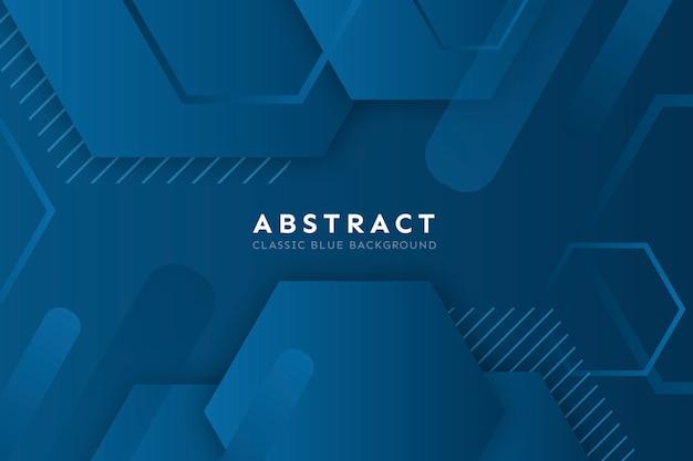 Абстрактный синий классический фон