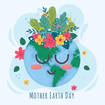 母なる地球の日イベントお祝いテーマ