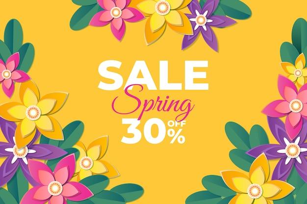 花が咲くの爆発で春ぼやけた販売テンプレート