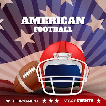 アメリカンフットボールの現実的なデザイン