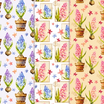 Акварельная коллекция весны