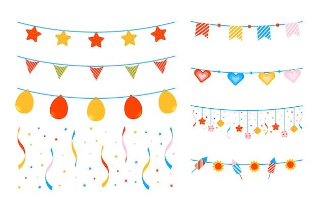 Юбилейный день рождения в стиле украшений