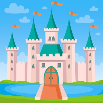 おとぎ話の城