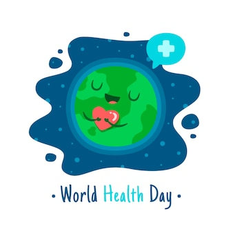 世界保健デーのお祝い